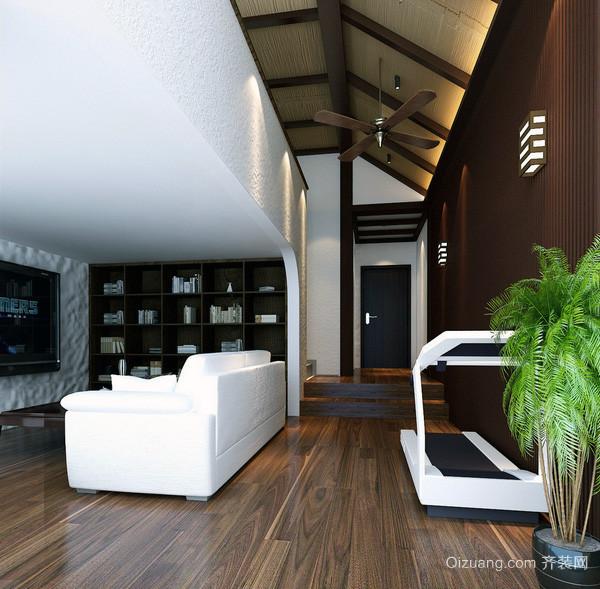 2016经典的欧式风格阁楼室内装修效果图大全