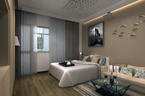 2016大户型欧式风格室内窗帘装修效果图欣赏
