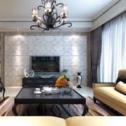 客厅吊灯整体设计
