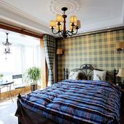 美式采光好的卧室