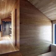 公寓实木墙面展示
