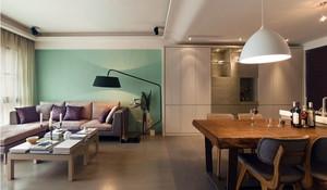朴素小户型家装简约客厅效果图片