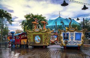 快乐出发:现代化儿童游乐园装修图片