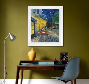 后现代风格小书房抽象画装修图片