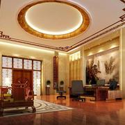 新中式大办公室装修设计图