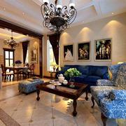 美式客厅装饰画欣赏