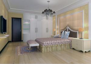 70平米小户型欧式风格卧室装修效果图鉴赏
