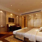 宾馆卧室电视背景墙欣赏