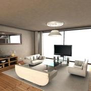 住宅日式风格客厅装饰