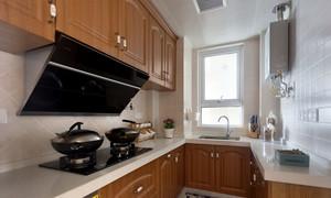 94平米田园公寓式高层住宅装修效果图