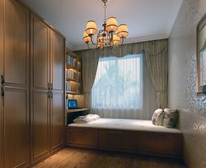 大户型舒适日式风格榻榻米卧室装修效果图