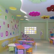 暖色调教室设计