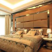 100平米欧式卧室软包背景墙装修效果图鉴赏