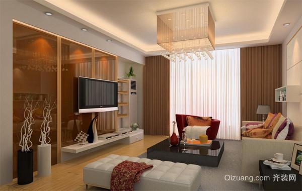 2016大户型欧式风格两室一厅室内装修效果图