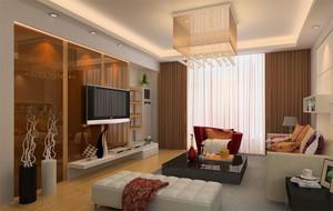 现代实例窗帘设计