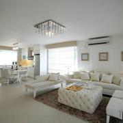 家装居室白色装扮