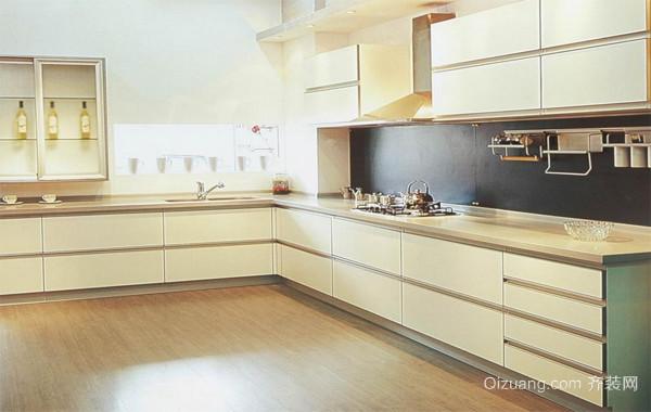 2016大户型欧式风格整体厨柜装修效果图鉴赏