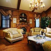现代时尚的精美美式别墅装修效果图鉴赏
