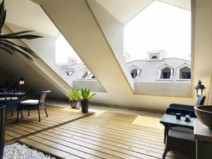 现代欧式大户型斜顶阁楼室内装修效果图鉴赏