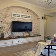 住宅客厅电视背景墙