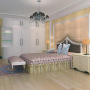 60平米小户型欧式风格卧室装修效果图