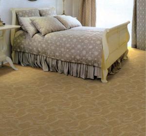 跃层现代家居卧室舒适地毯效果图片