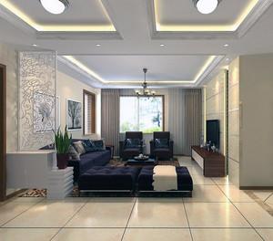 80平米欧式小户型设计客厅玄关装修效果图