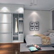 现代室内欧式风格整体衣柜装修效果图