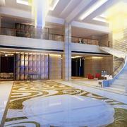 宾馆大堂豪华设计
