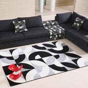 黑白系列的地毯