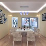 2016欧式小户型家装餐厅装修效果图案例