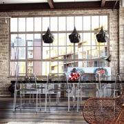 复古工业化餐厅展示