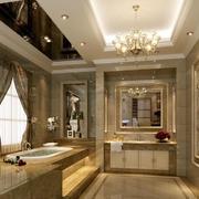 欧式风格的卫生间