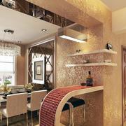 暖色调餐厅设计