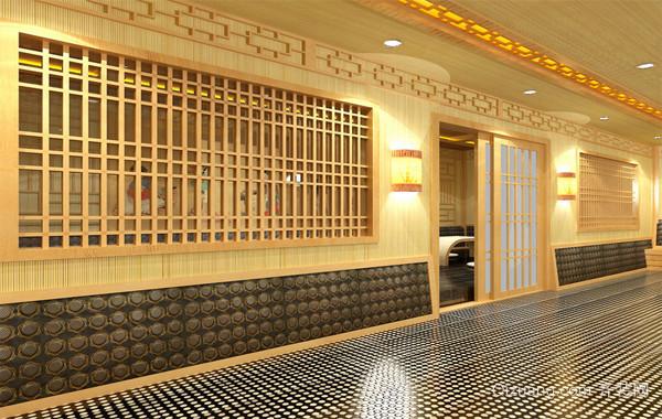 2016精致的都市韩式汗蒸馆室内设计效果图