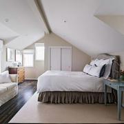 23平米阁楼朴素卧室装修样板房