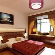 复古中式卧室展示