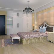 现代大户型后现代装修风格卧室装修效果图