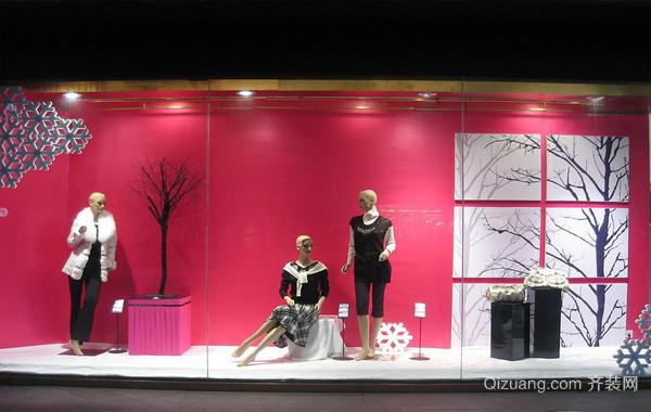 大户型店面精致橱窗设计效果图