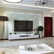 三居室家庭电视背景墙欣赏