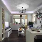 设计唯美的欧式单身公寓装修效果图实例