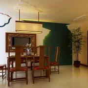 复古中式小餐厅欣赏