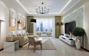 三居室家庭客厅装饰欣赏