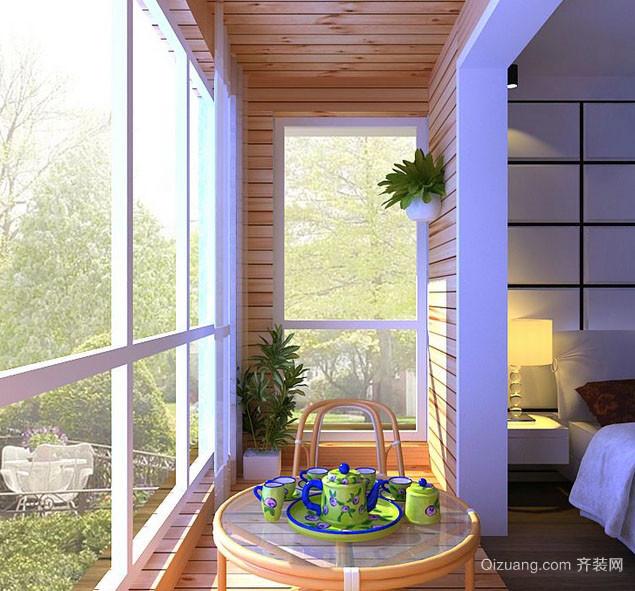60平米室内小阳台宜家风格装修效果图大全
