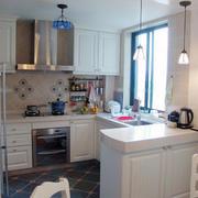 2016欧式风格大户型家庭厨房装修效果图