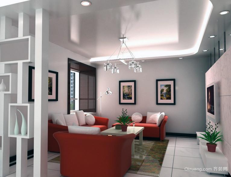 2016经典的大户型欧式客厅室内装修效果图大全