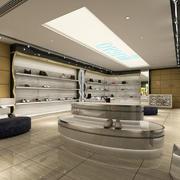 精致现代化鞋店