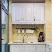 三居室家庭简约厨房橱柜