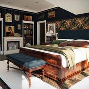 复古卧室墙面装饰