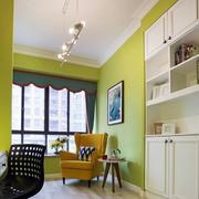 三居室家庭书房小沙发